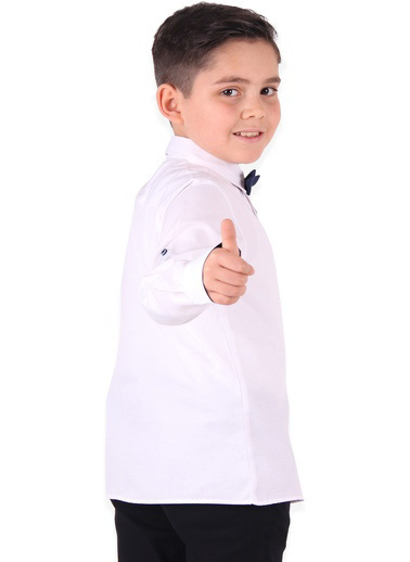 E&H Gömlek Beyaz